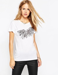 Religion Owl T Shirt White
