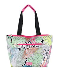 Sakroots Kota Reversible Medium City Tote Neon Multi