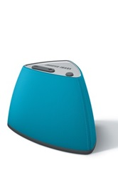 Sharper Image Blue Mini Bluetooth Speaker No Color
