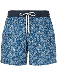 Venroy Diamond Print Swim Shorts 60