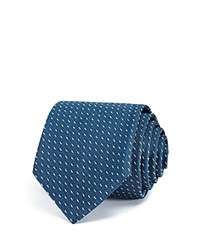 Theory Micro Dash Classic Tie 100 Bloomingdale's Exclusive Teal