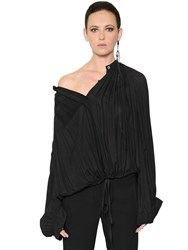 Ann Demeulemeester Viscose Crepe Blouse