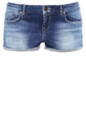 Ltb Judie Denim Shorts Sandia Wash Blue Denim