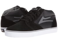 Lakai Fura High Weather Treated Black Grey Suede Men's Skate Shoes