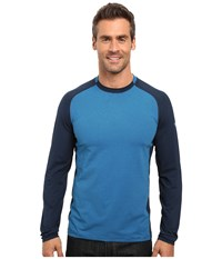 Mountain Hardwear Butterman Crew Navy Men's Long Sleeve Pullover Blue