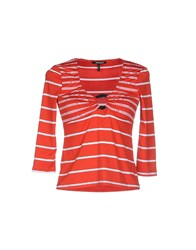 Roccobarocco Topwear T Shirts Women Red