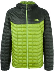 The North Face 'Thermoball' Padded Jacket Green