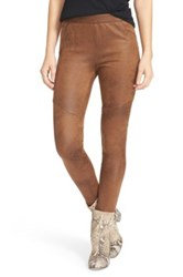 Free People Never Let Go Faux Leather Pant Brown