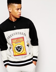 The Hundreds Pitch Button Sweatshirt Black