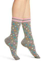 Happy Socks Dot And Stripe Crew Black
