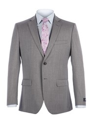 Alexandre Of England Men's Ealing Light Grey Suit Light Grey