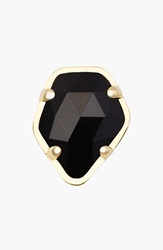 Kendra Scott Stone Charm Gold Black