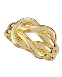 Jules Smith Designs Jules Smith Braided Hinge Cuff Gold