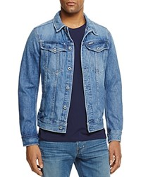 G Star Raw Denim Jacket In Light Aged Light Aged Blue