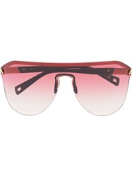 Westward Leaning Pink Vibe 01 Sunglasses Red