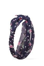 Forever 21 Floral Knotted Headwrap