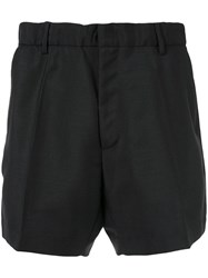 N 21 No21 Tailored Fitted Shorts Black