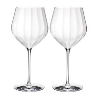 Waterford Optic 'Big Red' Wine Glasses Set Of 2