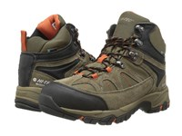 Hi Tec Altitude Lite I Shield Waterproof Smokey Brown Taupe Red Rock Hiking Boots Olive