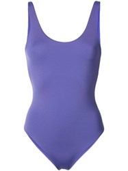 Onia Kelly Swimsuit Women Nylon Spandex Elastane S Pink Purple