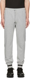 Dolce And Gabbana Grey Crown Lounge Pants