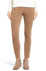 Jag Jeans Women's Nora Pull On Stretch Skinny Corduroy Pants Toffee