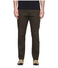Todd Snyder Hudson Tab Front Chino Olive Men's Casual Pants