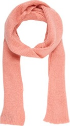 Wooden Ships Skinny Scarf Pink
