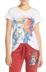 Women's Lauren Moshi 'Peaches' Cotton Tee