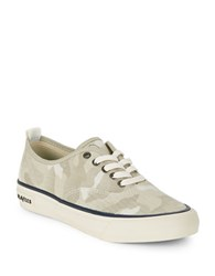 Seavees Salt Washed Lace Up Sneakers Cream