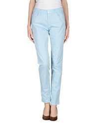 Tru Trussardi Trousers Casual Trousers Women Sky Blue