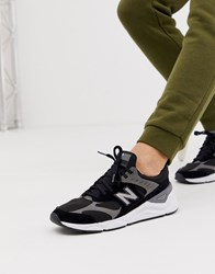 New Balance X90 Sneakers In Black Black