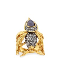 Alexis Bittar Starling Bird Cocktail Ring