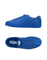 Pony Sneakers Bright Blue