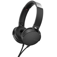 Sony Mdr Xb550ap Extra Bass On Ear Headphones With Mic Remote Black