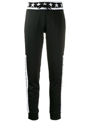 Philipp Plein Graphic Track Pants Black