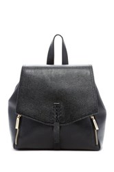 Zenith Handbags Braided Strap Backpack Black
