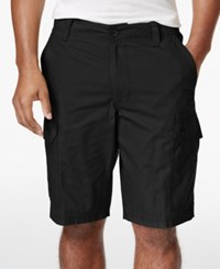 Club Room Men's Solid Rip Stop Shorts Only At Macy's Deep Black