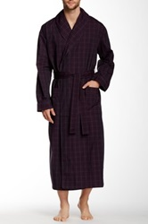 Majestic Lounge Shawl Collar Robe Red