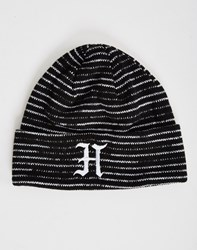 The Hundreds Lex Beanie Black