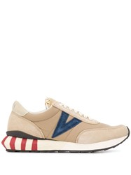 Visvim Attica Low Top Sneakers Neutrals