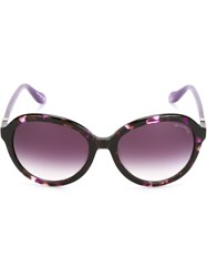 Vivienne Westwood Anglomania Round Frame Sunglasses Pink And Purple