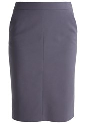 More And More Pencil Skirt Cloudy Grey