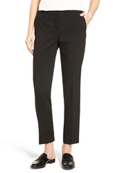 Vince Camuto Women's Skinny Ankle Pants Rich Black