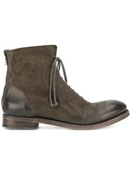 The Last Conspiracy 'Sne Mat' Boots Grey