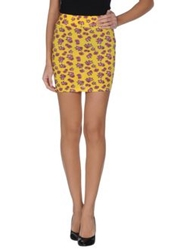 Made With Love Mini Skirts Yellow