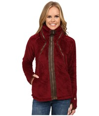 Kuhl Flight Jacket Port Women's Coat Burgundy