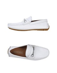 Moschino Footwear Moccasins Men