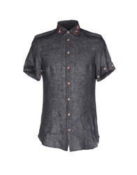 Mangano Shirts Steel Grey