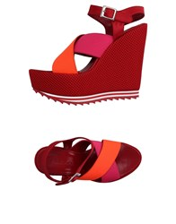 P.A.R.O.S.H. Footwear Sandals Women Orange